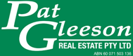 Pat Gleeson Real Estate - logo